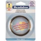 Beadalon Round German Style Wire - 22-Gauge